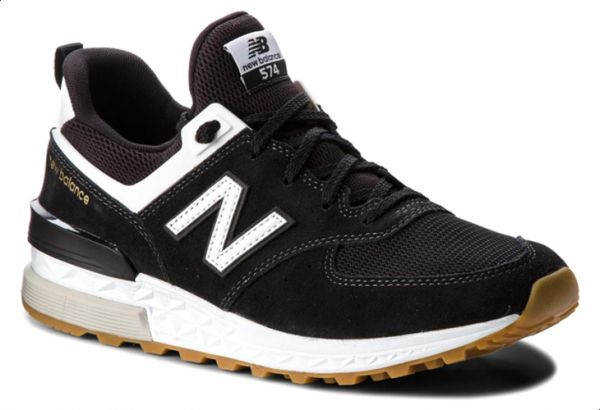 sports shoes 188b6 cf23b New Balance NB-574S Walking Sneakers For Men - Black