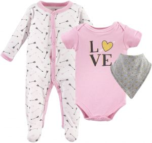 667d4f52354b Hudson Baby Multi Piece Clothing Set
