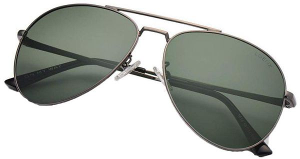 cecdd0dde4 LUENX Men Aviator Sunglasses Polarized for Driving with case 60MM