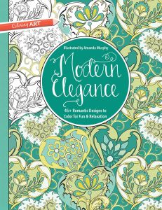 Modern Elegance Coloring Book 45 Weirdly Wonderful Designs To Color For Fun Relaxation Art