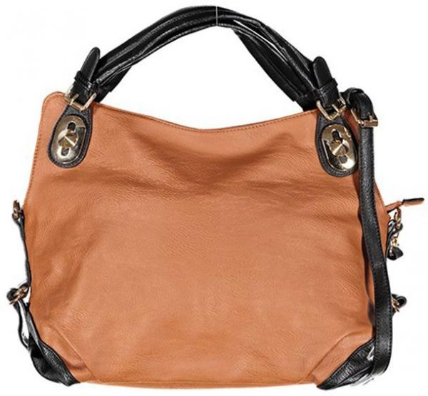 a4a1db4b2670 Kathy Ireland Womens Hobos Bag Black   Brown