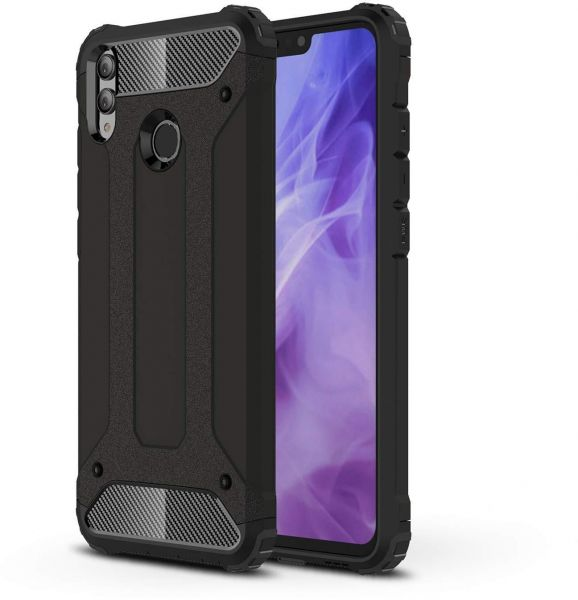 detailed look 3ba3a c9eee HUAWEI HONOR 8X Hybird Series Double Layer Shockproof Protective Case Cover