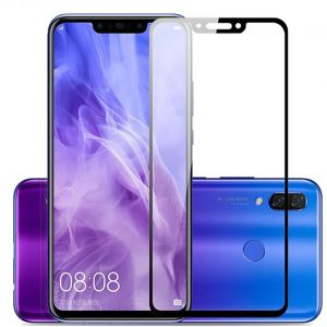 Huawei Mate 20 Lite Screen Protector Scratch Resistant Anti-Fingerprint Bubble Free 2.5D Arc Edge Ultra Thin 9H Hardness Tempered Glass Film for Huawei Mate ...
