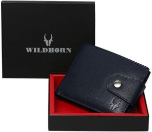 3f4f3bfc1c1 WildHorn Genuine Leather Hand-Crafted Bifold Wallet
