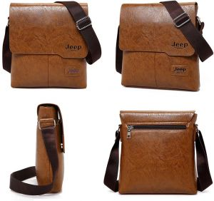 7af96844d644 Men Messenger Bag Fashion Man Leather Tote Bags Male Cross Body Shoulder  Business Bags For Men