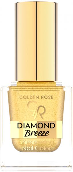 Golden Rose Diamond Breeze Shimmering Nail Color, No 1