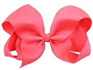 c607ccc710cd Hair Bows for Girls 6 Inches Large Big Grosgrain Ribbon Bows Alligator Hair  Clips in Pairs Hair Accessories for Baby Girls Kids Teens Women