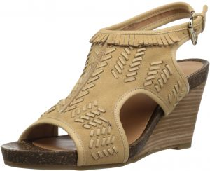 10d9adbdb5a Aerosoles Women s Waterfront Wedge Sandal