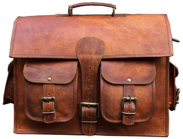 52c82afd5159 Leather Brown Laptop Bags. by Other