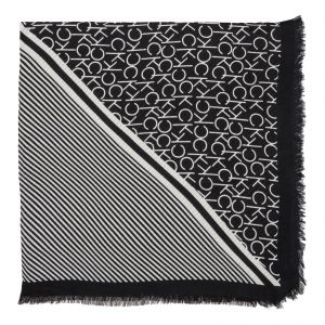 5215ecdac835 Calvin Klein Scarf for Women - White and Black
