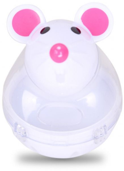 Toy Mouse Tumbler Leakage Food Ball Dog Cat Pet Shop Funny Toys