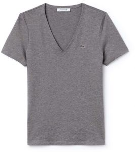 155189e7866 Lacoste T-Shirt for Women - Stone Chine