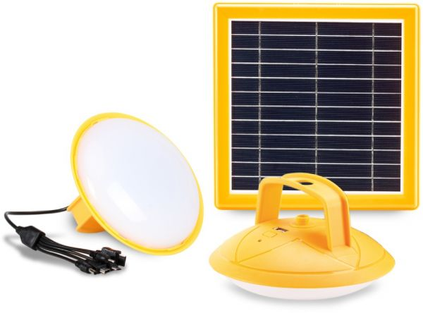 Promate Solar Led Camping Light Rechargeable Solar