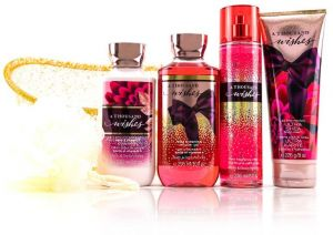 5e205fac4d Bath and body works A THOUSAND WISHES 5 gift set. buble. body lotion.  shower gel. body cream and fragrance mist.