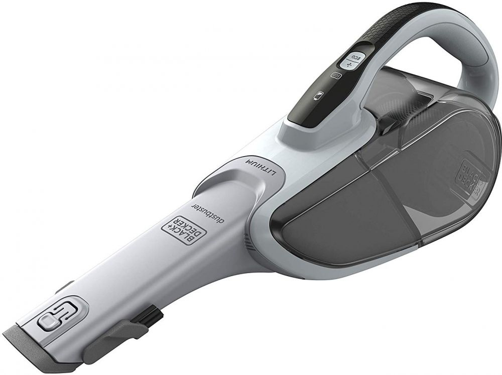 Black & Decker 10.8 Wh Lithium Ion 7.2V MPP Hand Vacuum Cleaner, Multi Color - DVJ215J-B5