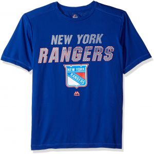 e2ef2a39c NHL New York Rangers Men s Charging Short Sleeve Synthetic Tee