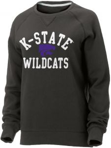 Ouray Sportswear NCAA Kansas State Wildcats Womens NCAA Women s Hot Shot  Crew Neck Sweatshirt, Graphite, X-Large 92bf3c7786
