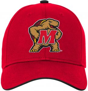 a8c3b74a1da71 NCAA Maryland Terrapins Kids   Youth Boys Basic Structured Adjustable Hat