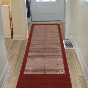 Sweet Home S Clear Plastic Runner Rug Protector Ribbed Multi Grip 26x6