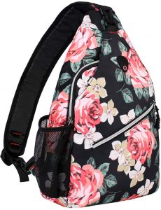 d37331a436 MOSISO Enlarged Sling Backpack, Water Repellent Polyester Durable Chest  Shoulder Unbalance Crossbody Gym Fanny Sack Satchel Outdoor Hiking Bag for  Men Women ...