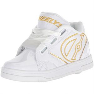 4eea0d69111 Heelys Propel 2.0 Fashion Sneakers for Girls - White Gold