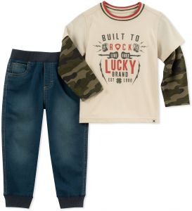 Lucky Sets Little Boys  2 Pieces Pant Set d671260bc