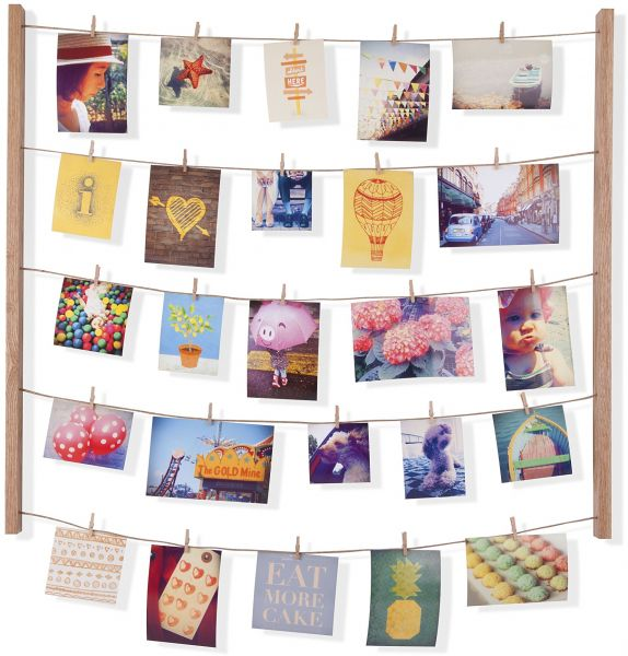 Umbra Hangit Photo Display Diy Picture Frames Collage Set Includes