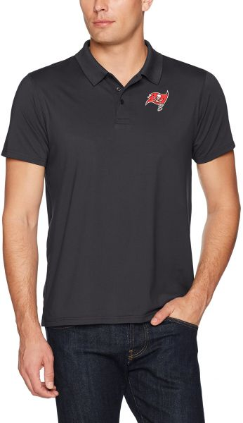 0a1a6558d OTS NFL Tampa Bay Buccaneers Men s Sueded Short sleeve Polo Shirt ...