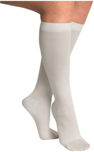 276cd30d1f2 ITA-MED Anti-Embolic Knee Highs Stockings Light Compression Socks (18 mmHg)  Medical Orthopedic Support Hose for Varicose Veins Edema Support for  Swelling