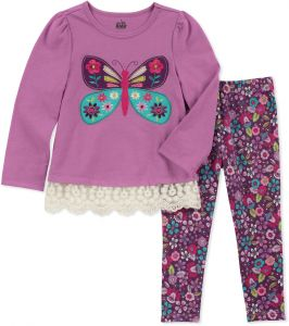 79a2419da0 Kids Headquarters Baby Girls 2 Pieces Legging Set