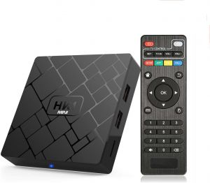HK1 Mini Android 8.1 TV Box 64 Bit Quad Core 2GB RAM 16GB ROM 4K HDMI 2.4G WIFI Smart Medeia Player