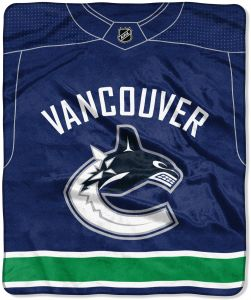 The Northwest Company Officially Licensed NHL Pro Jersey Plush Raschel  Throw Blanket 4c1080ddc