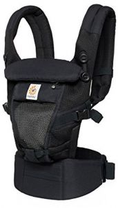 cb771ec9417 Ergobaby Adapt Cool Air Mesh Breathable Ergonomic Multi-Position Baby  Carrier