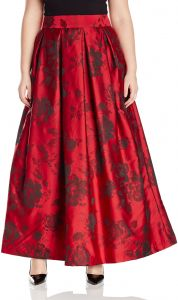Jessica Howard Womens Plus Size Pleated Ballgown Separate Skirt