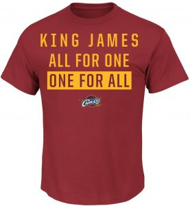 a4ee67c6a6e NBA Cleveland Cavaliers LeBron James Men s 23 Still The One Tee