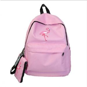 55dfa254cf14 School Backpack Pink