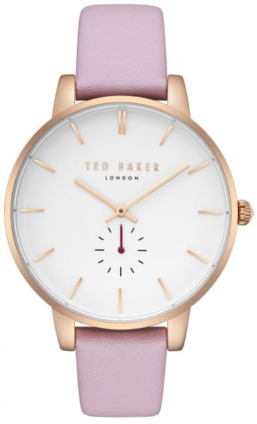 7eb3aaac8 Ted Baker Women s  Olivia  Quartz Stainless Steel and Leather Casual Watch