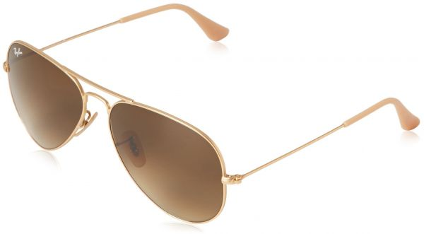a9b68630635 Ray-Ban 3025 Aviator Large Metal Non-Mirrored Non-Polarized Sunglasses
