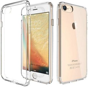 Clear Back case for iPhone 7 Trands Silicon Transparent case