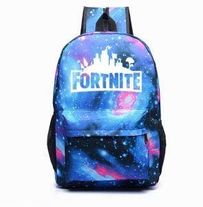 release date 6b9eb 47a0d Custom fashion fortnite game night luminous backpack, school daypack  backpack youth campus shoulder bag