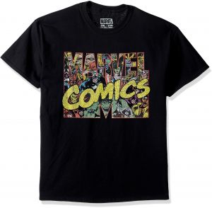 Marvel Men s Superhero Group Shot Short Sleeve Graphic T-Shirt b132837cd
