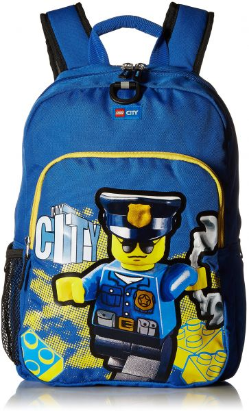 bc7b29d3e6a LEGO Kids  City Police Heritage Classic Backpack, Blue, One Size