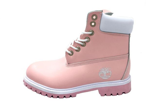 Timberland Baby Pink Shearling   Snow Boots For Women  5f3fdbe027e5