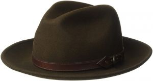 3eb88bfc457 Country Gentleman Men s Dunmore Classic Wool Fedora Hat