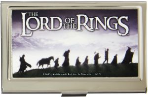 fbc23c6c6ab Buckle-Down Business Card Holder - THE LORD OF THE RINGS Fellowship of the  Rings Trek - Small