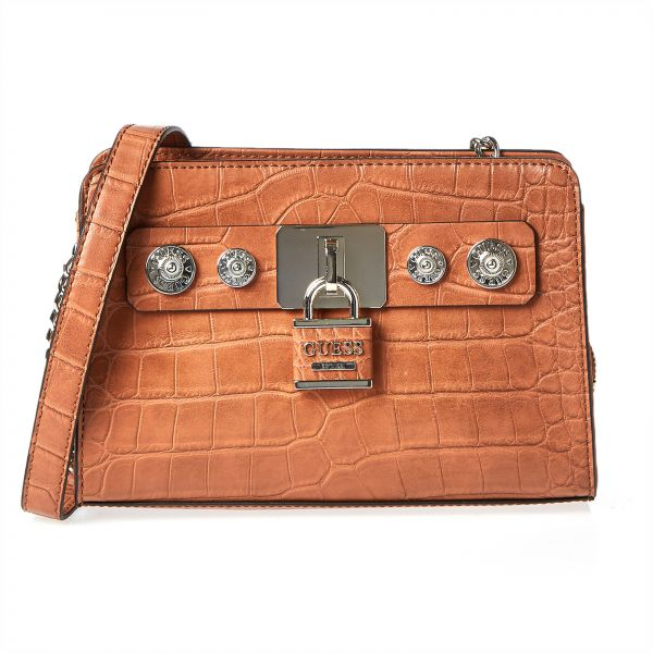 87a5478c5e99 Guess Crossbody Bag For Women - Cognac