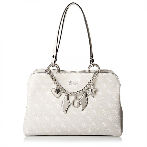 fadba37985c9 Guess Satchel Bag For Women - Off White