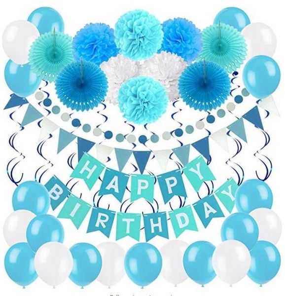 Birthday Decoration Set Zerodeco Happy Birthday Banner Bunting With