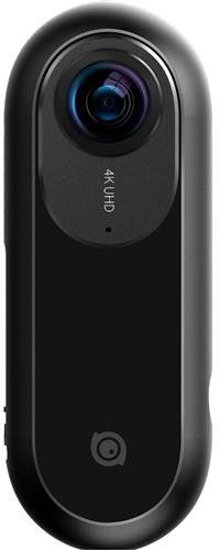 Insta360 One Panoramic Camera, With Flow State Stabilization For Ios and android - 842126100185, Black