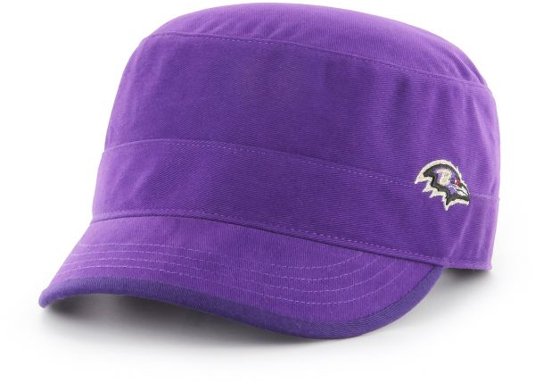 02b79fce8d51a NFL Baltimore Ravens Women s Shipmate OTS Cadet Military-Style Adjustable  Hat